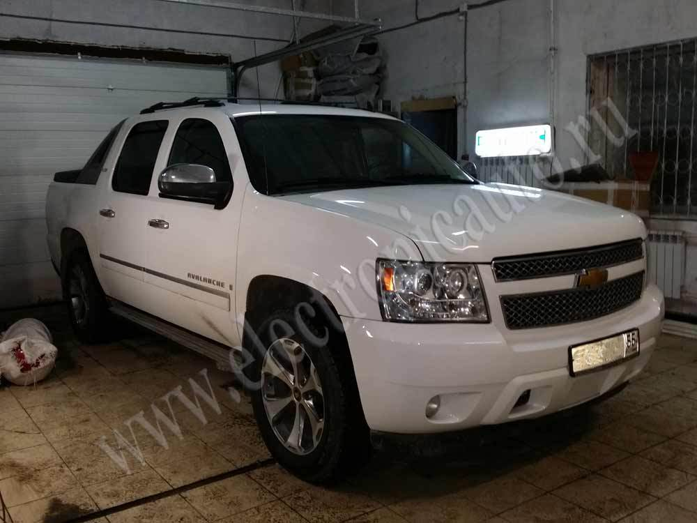 Chevrolet Avalanch Ustanovka Gbo